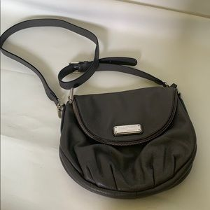 Marc by Marc Jacobs leather grey crossbody bag